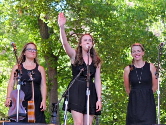 I'm With Her: Sara Watkins, Sarah Jarosz & Aoife O'Donovan at Moore Theatre