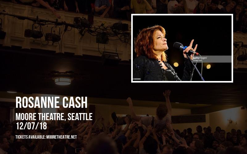 Rosanne Cash at Moore Theatre
