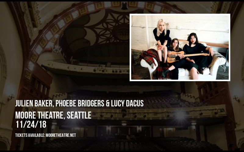 Julien Baker, Phoebe Bridgers & Lucy Dacus at Moore Theatre