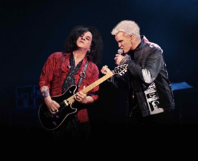 Billy Idol & Steve Stevens at Moore Theatre