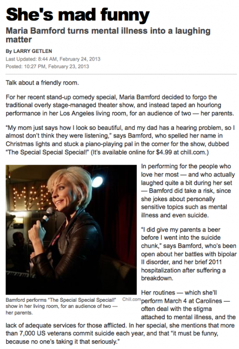 Maria Bamford at Moore Theatre