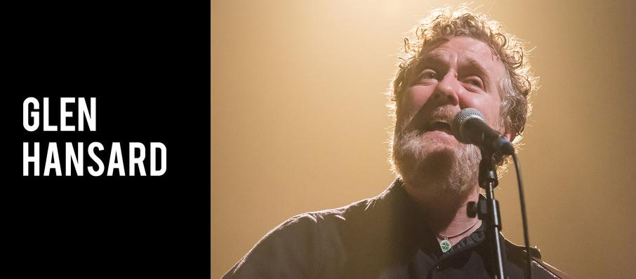 Glen Hansard at Moore Theatre