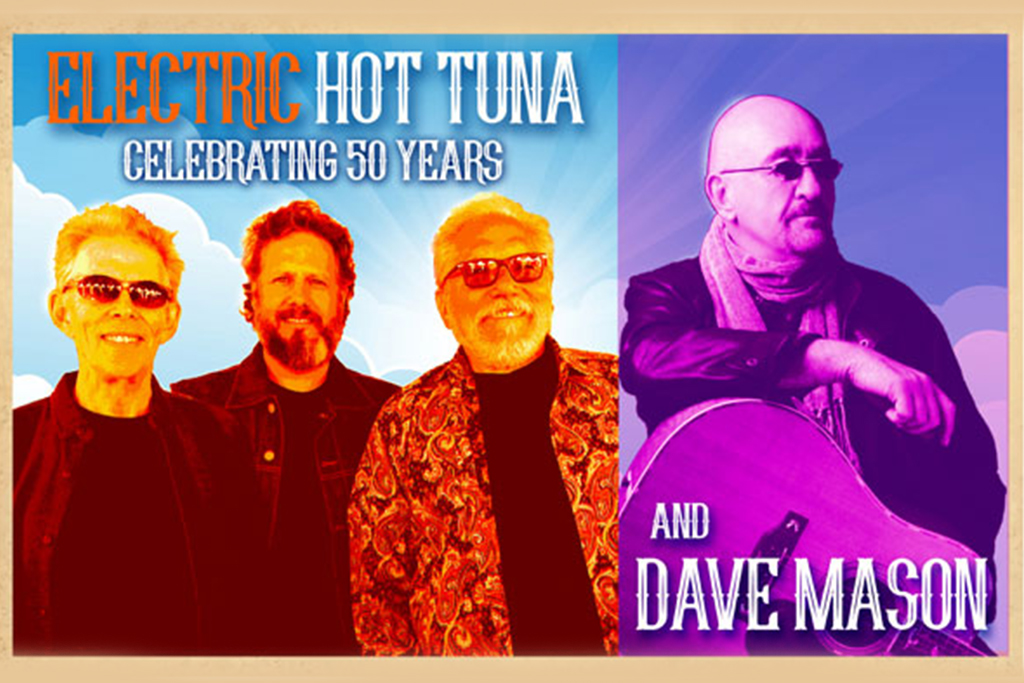 Hot Tuna Electric & David Bromberg Quintet at Moore Theatre