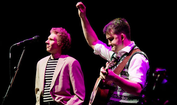 The Simon & Garfunkel Story at Moore Theatre