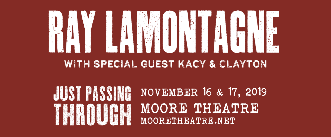 Ray LaMontagne at Moore Theatre