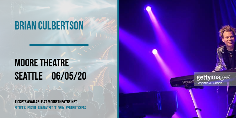Brian Culbertson at Moore Theatre