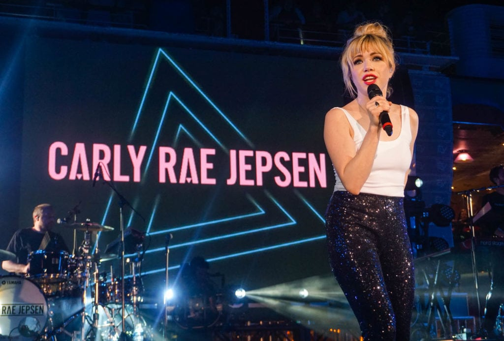 Carly Rae Jepsen at Moore Theatre