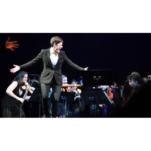 Seattle Rock Orchestra Performs The Beatles at Moore Theatre