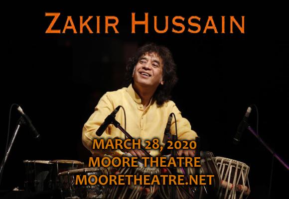 Zakir Hussain [POSTPONED] at Moore Theatre