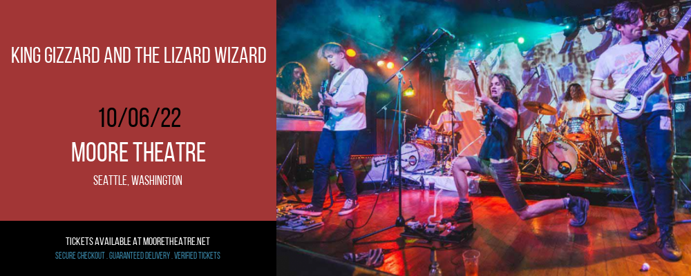 King Gizzard and The Lizard Wizard at Moore Theatre