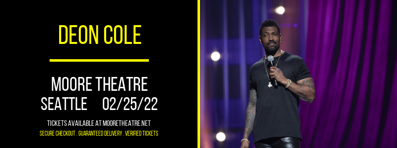 Deon Cole at Moore Theatre