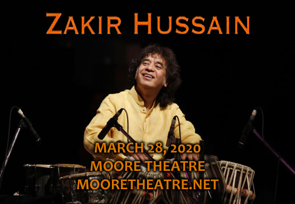 Zakir Hussain at Moore Theatre