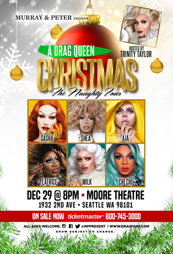 A Drag Queen Christmas at Moore Theatre