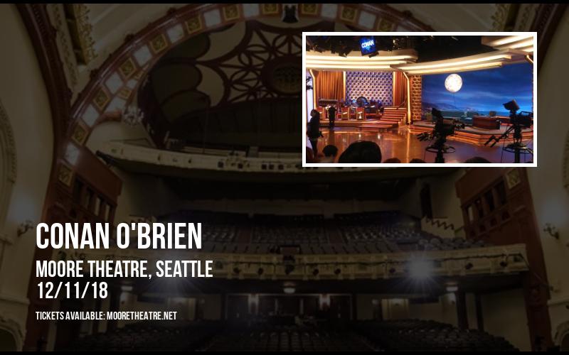 Conan O'Brien at Moore Theatre