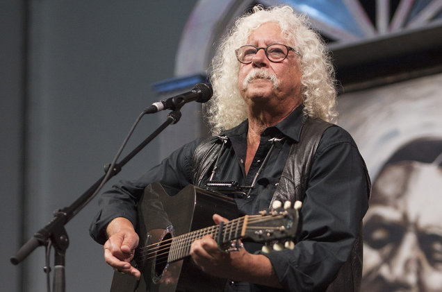 Arlo Guthrie at Moore Theatre