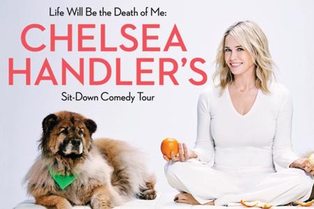 Chelsea Handler at Moore Theatre