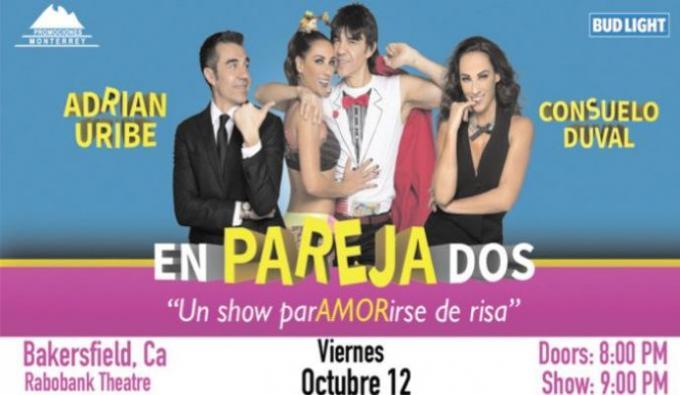 EnParejaDos: Adrian Uribe & Consuelo Duval at Moore Theatre