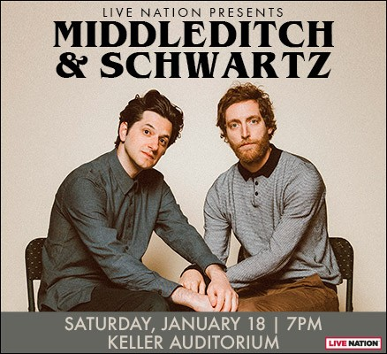 Middleditch and Schwartz at Moore Theatre
