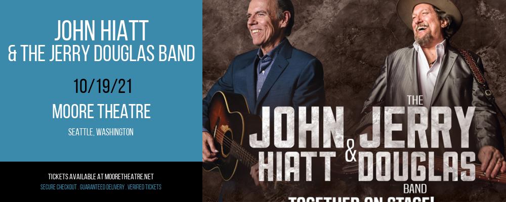 John Hiatt & The Jerry Douglas Band at Moore Theatre