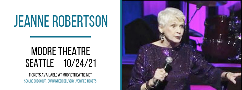 Jeanne Robertson at Moore Theatre