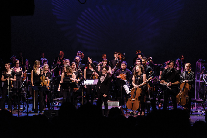 Seattle Rock Orchestra Performs The Dark Side Of The Moon at Moore Theatre