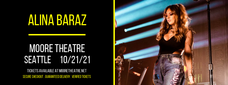 Alina Baraz at Moore Theatre